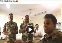 BSF Soldier's Viral Song
