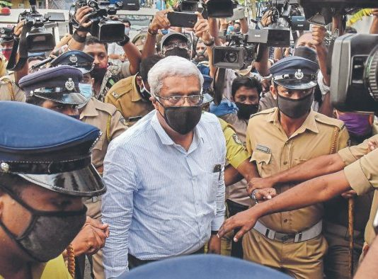 M Sivasankar under ED custody