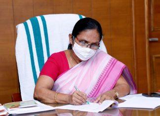 KK Shylaja; Today's Kerala Covid Report