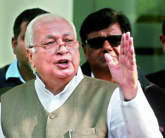 Arif Mohammad Khan detected Covid positive