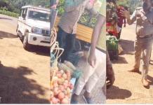 Cherupuzha CI attack Street Vendors