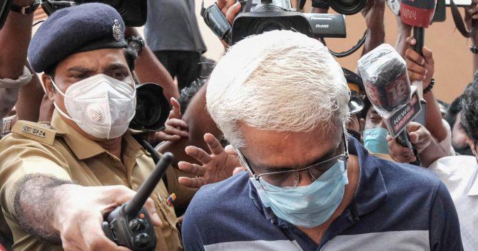 M Sivasankar approaches High court for bail