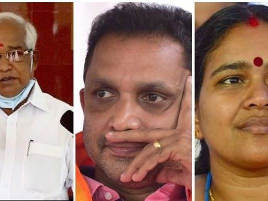 PM Velayudhan against BJP state president K Surendran