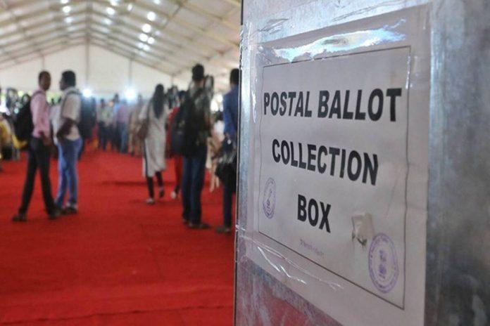Postalballot collection box