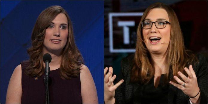 Sarah McBride first transwoman won to US Senate