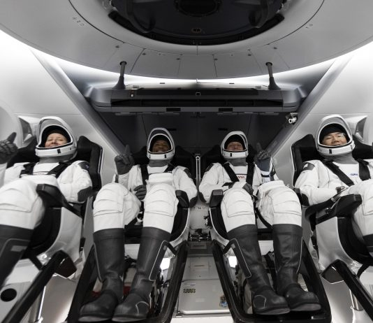 SpaceX Launches 4 Astronauts Into Space