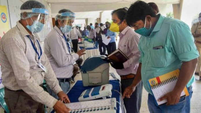 The Health department and State Election Commission have issued strict guidelines for the candidates and political party workers to ensure safety during the electioneering