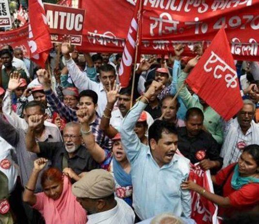 Trade-union- national strike