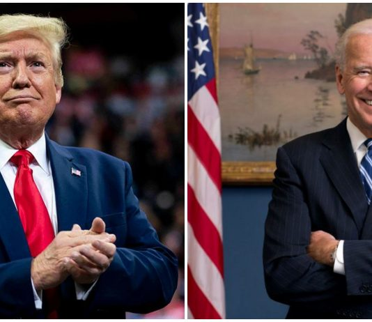 US Election 2020; Trump and Biden