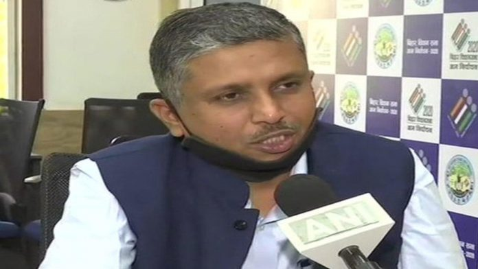 HR Sreenivas, bihar-chief-electoral-officer