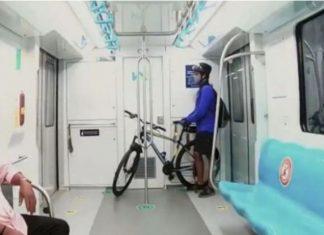 Bicycle-Kochi metro Pic(
