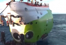 china sends submersiblefendouzhe down pacific ocean