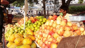 fruits and vegetable sale