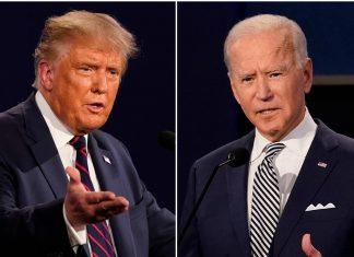 joe biden lead in us election 2020