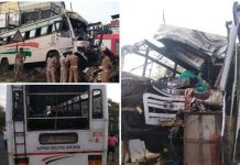 Vyttila KSRTC Bus Accident