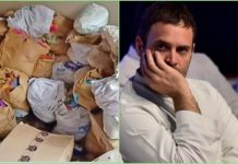 local congress representatives not utilising food given by Rahul Gandhi