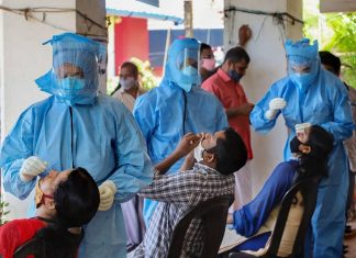 more than 6000 covid cases in Kerala