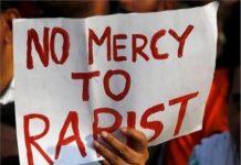 No mercy to rapist