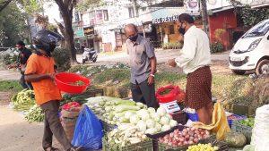 Street Vendors at Panampilly nagar, Kochi