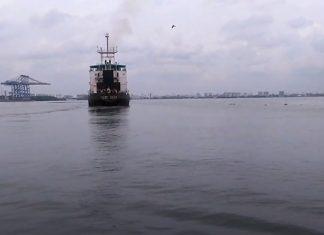 Ship to Kochi-port