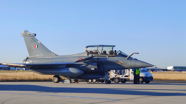 three more rafale jets to reach India by evening