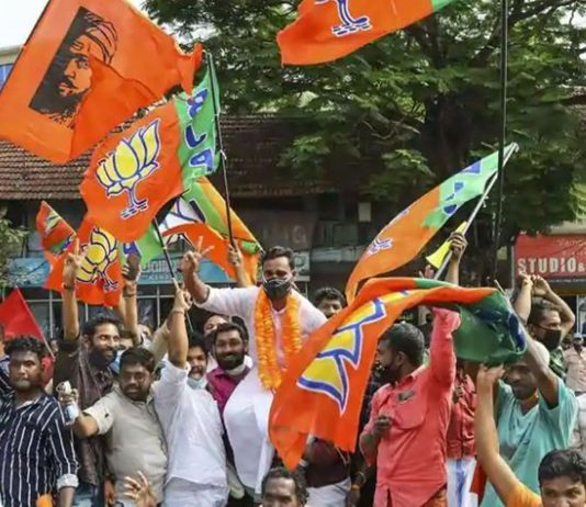 BJP Victory celebration