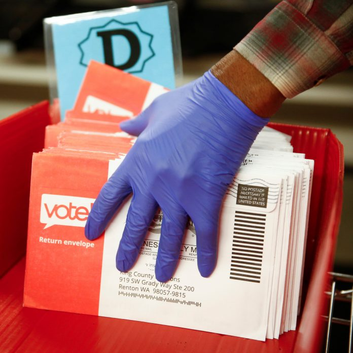 Electronic postal votes for expats