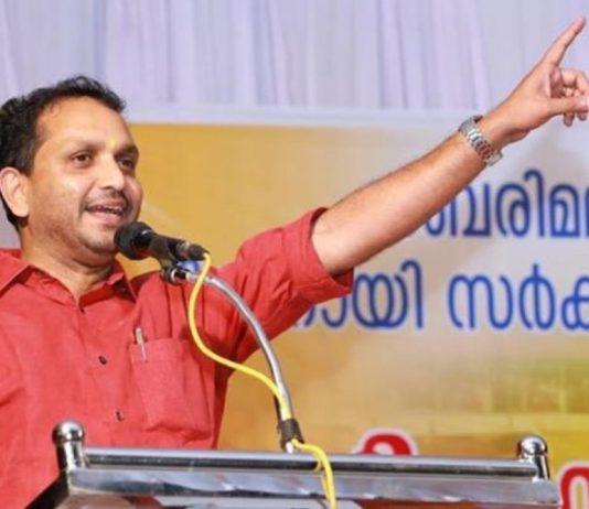 K Surendran, File Pic, C: The statesman