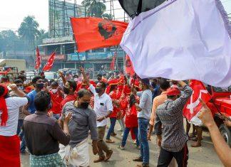 LDF in Thrissur Kochi Corporation