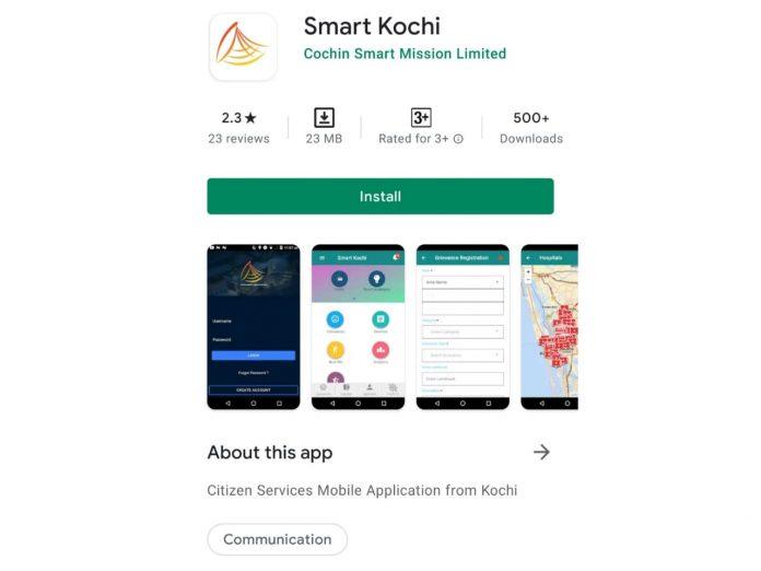 Smart Kochi App