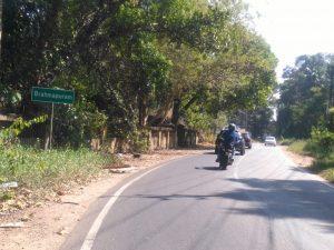 Brahmpuram sign board