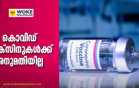covaxin not approved for immediate use in India