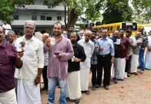 election voters queue