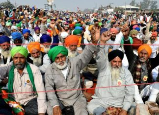 farmers protest on tenth day PM Modi held meeting