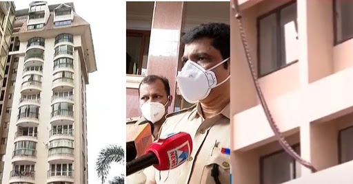 home maid fell down from 6th floor of kochi flat; mystery