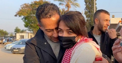 mays abu Ghosh released after 15 months from refugee camp