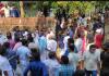 nadapuram tension arises between police and party leaders