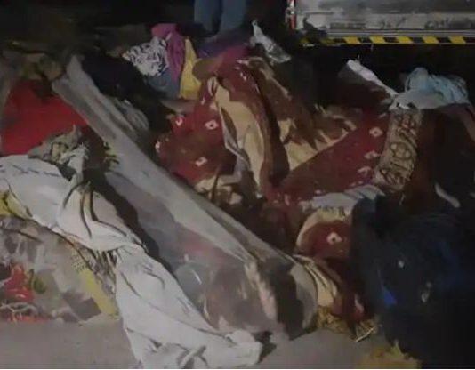 13 Labourers Killed After Truck Runs Over Them Near Surat