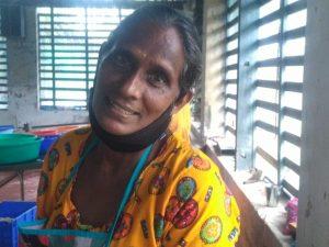Ayisha Mani, peeling labourer