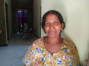 Sheeba, housewife, Fishermen colony, Arattukadav