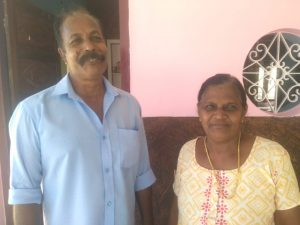 Anchalassery Joshy (Fisherman) and wife Sudha
