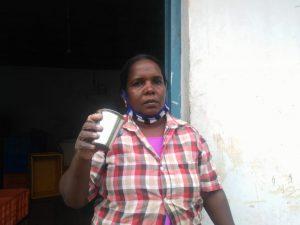 MiniRajan, peeling worker Narakkal