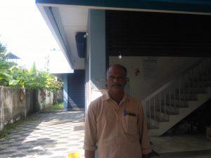 P G Jayakumar, president, Narakkal- Nayarambalam matsyathozhilali kshema sahakarana sangham