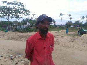 Shiju, fisherman Nayarambalam
