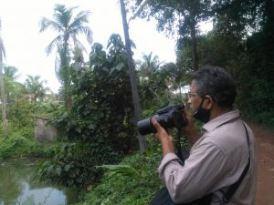 പോളി കളമശേരി, പക്ഷി നിരീക്ഷകന്