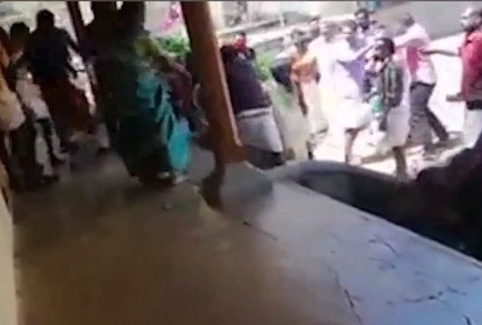 Fight in Marriage House at Kollam