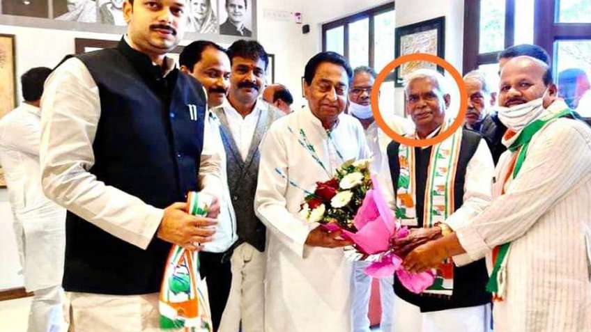 'Godse bhakt' Babulal Chaurasia joins congress