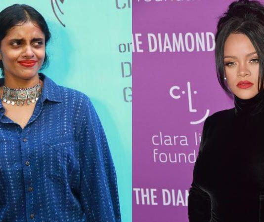 Kani and Rihanna