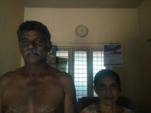 Pradeep- Prabha couple