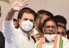 Rahul Gandhi and V Narayanasamy (Picture Credits: Deccan Herald)